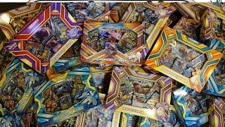 La apertura de 50 Pokemon EX y GX Cajas
