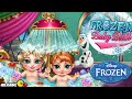 Disney Frozen Baby Anna and Baby Elsa Bath - Disney Frozen Baby Games