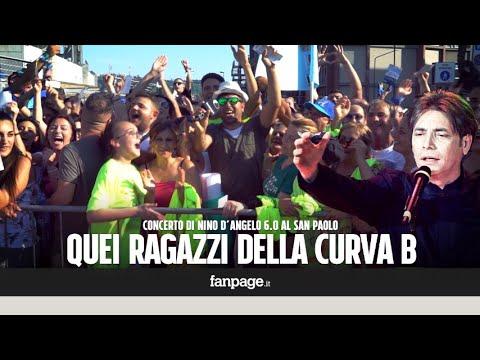 """Napoli, al concerto di Nino D'Angelo fan da tutta Europa: """"È la nostra vita"""""""