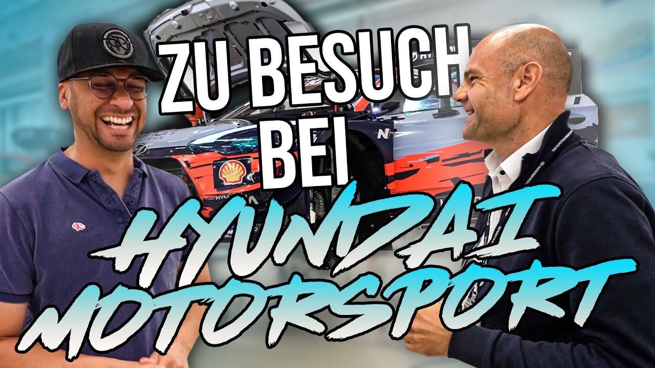 JP Performance - Zu Besuch bei Hyundai Motorsport! | Teil 1