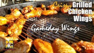 Crispy Grilled Chicken Wings | Gameday Wings