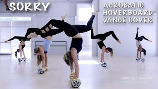 Sorry - Epic Acrobatic Hoverboard Dance Cover / Acrobots / @justinbieber thumbnail