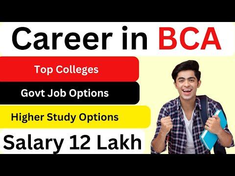 Career in BCA !! Salary 12 Lakh per annum