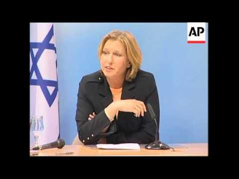 Livni meets Howells; Steinmeier meets Abbas; Peres meets Douste-Blazy