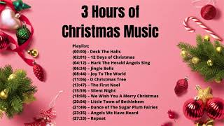3 HOURS of the Best Christmas Music Ever 🎄 Classic Christmas Song Playlist 🎅