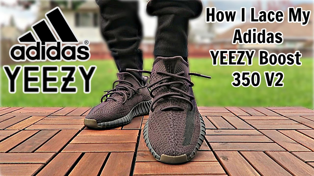 How I Lace My Adidas Yeezy Boost 350 V2