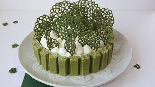 Matcha Cheese Cake (kit Kat Matcha)抹茶チーズケーキ 抹茶づくし