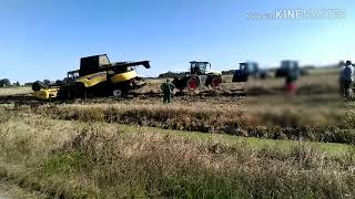 WPADKA kombajnu new holland żniwa 2017