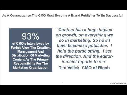 Publish or Perish: A CMO Roadmap for Becoming a Brand Publisher