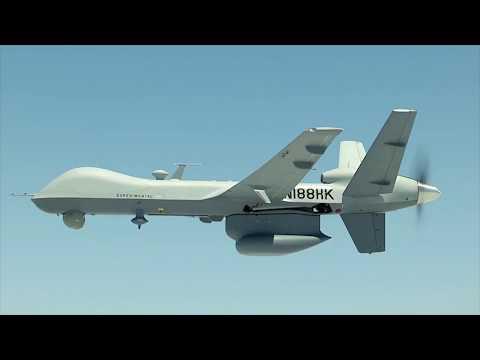 Maritime Predator B - General Atomics promo video
