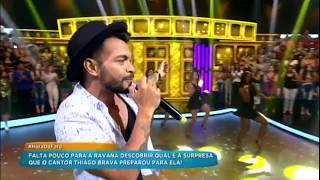 Baixar Thiago Brava canta o hit Dona Maria e agita a plateia de Rodrigo Faro
