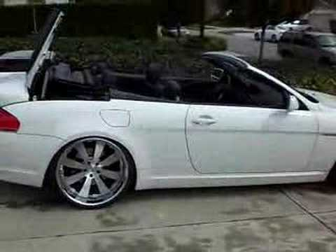 2007 BMW 650i update Klass Wheels and AC spoiler  YouTube