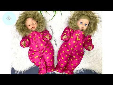 Как сшить комбинезон для куклы беби бон зимний