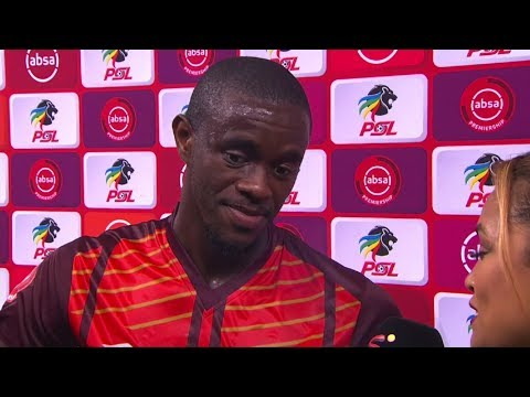 Absa Premiership   Cape Town City v Maritzburg United   Post-match interview with Kwanda Mngonyama