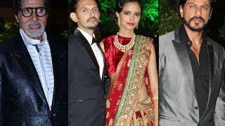 Bollywood stars at Vishesh Bhatt's reception