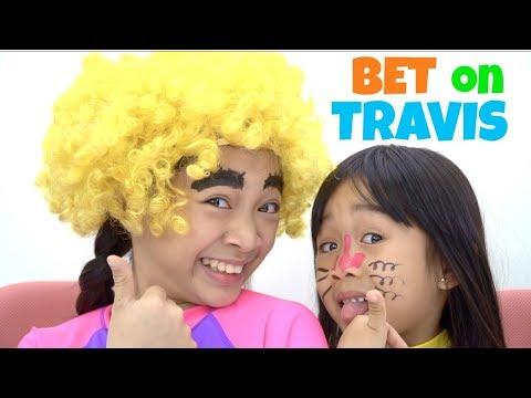 Kaycee & Rachel BET On TRAVIS Challenge