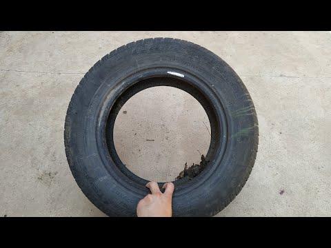 ⚙️ Не выбрасывайте старые покрышки от автомобиля!