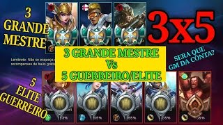 Mobile Legends  3x5 ( 3 High elo Vs 5 Low elo)