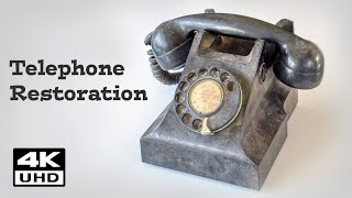 Vintage Rotary Dial Telephone Restoration (PMG) Australian made