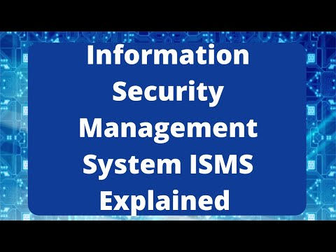 ISO 27001 Standard Information Security Management System ISMS Explained ISO 27001