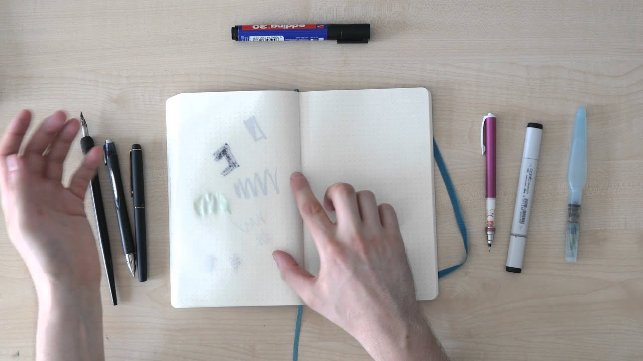 moleskine dotted notebook review by a graphic designer