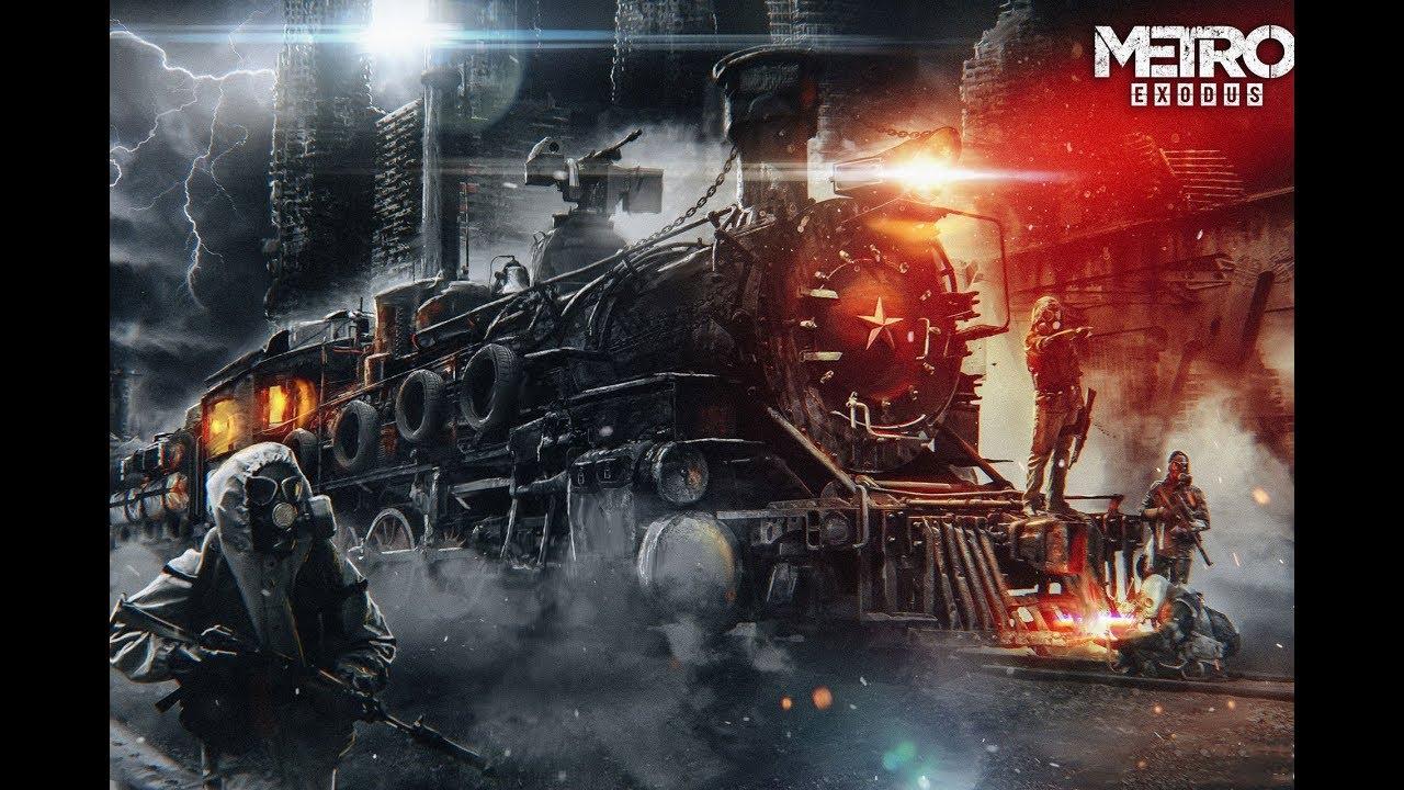 Metro Exodus - Вперед на поезд