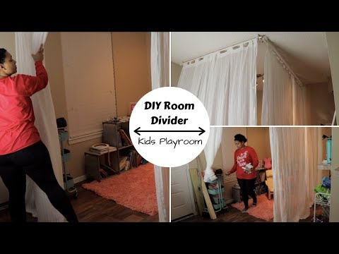 DIY Room Divider | Small Space Apartment | Ikea | Part one