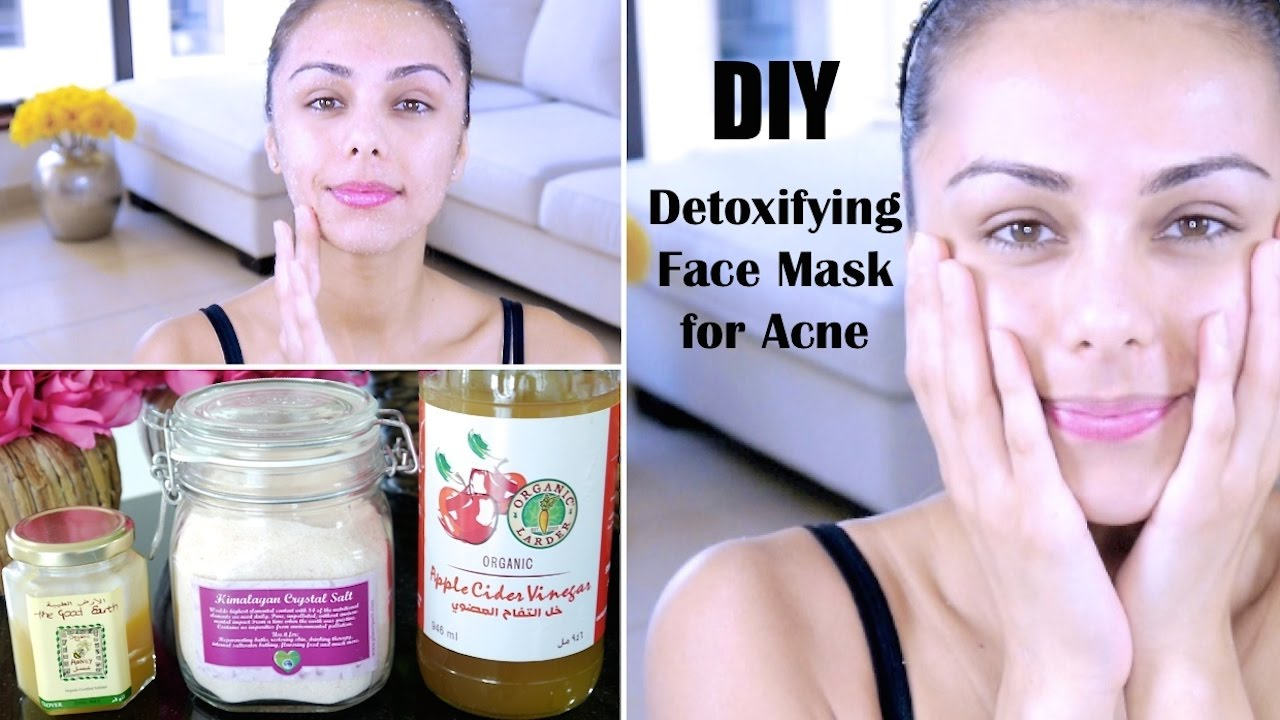 DIY Detoxifying Face Mask! ♥ (For Acne, Skin Discoloration ...