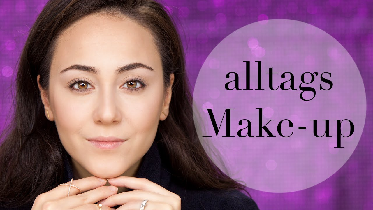 alltags make up make up tutorial einfacher look everyday look go to look hatice. Black Bedroom Furniture Sets. Home Design Ideas