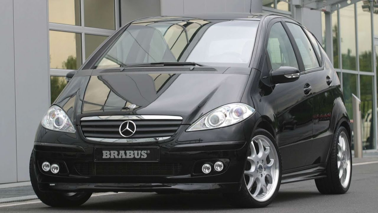brabus mercedes benz a class 2005 youtube. Black Bedroom Furniture Sets. Home Design Ideas