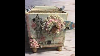 Stitches storage box tutorial