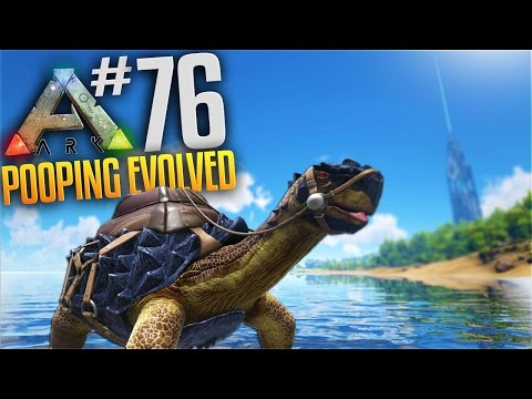 ARK Survival Evolved Tribes Gameplay - S3 Ep 76 - Carbonemys