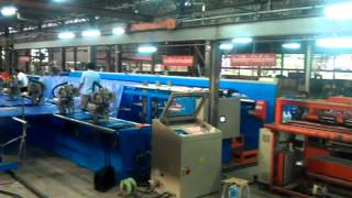 ls5380 8m whole plant for 8m tarpaulin making