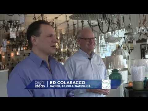 NECN Bright Ideas With Eversource And A.D. Cola Lighting