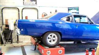 1968 ROADRUNNER CHASSIS DYNO TEST 378 RWHP