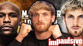 Logan Paul's Strategy To Beat Floyd Mayweather - IMPAULSIVE EP. 241