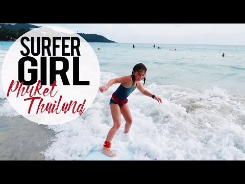 Catching Waves in Phuket, Thailand