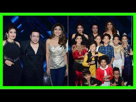 Govinda raveena tandon and shilpa shetty dial up nostalgia on govinda raveena tandon and shilpa shetty dial up nostalgia on super dancer 2 thecheapjerseys Images