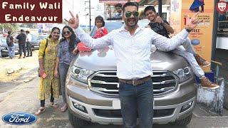 Ford Endeavour 3.2 - Family Trip & Fun (Hindi) - Endeavour BS6 2020 vs Fortuner 2020 | Nick Zeek