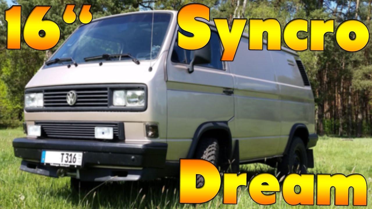 Vw T3 16 Quot Syncro 4x4 Volkswagen T25 Vanagon Multivan
