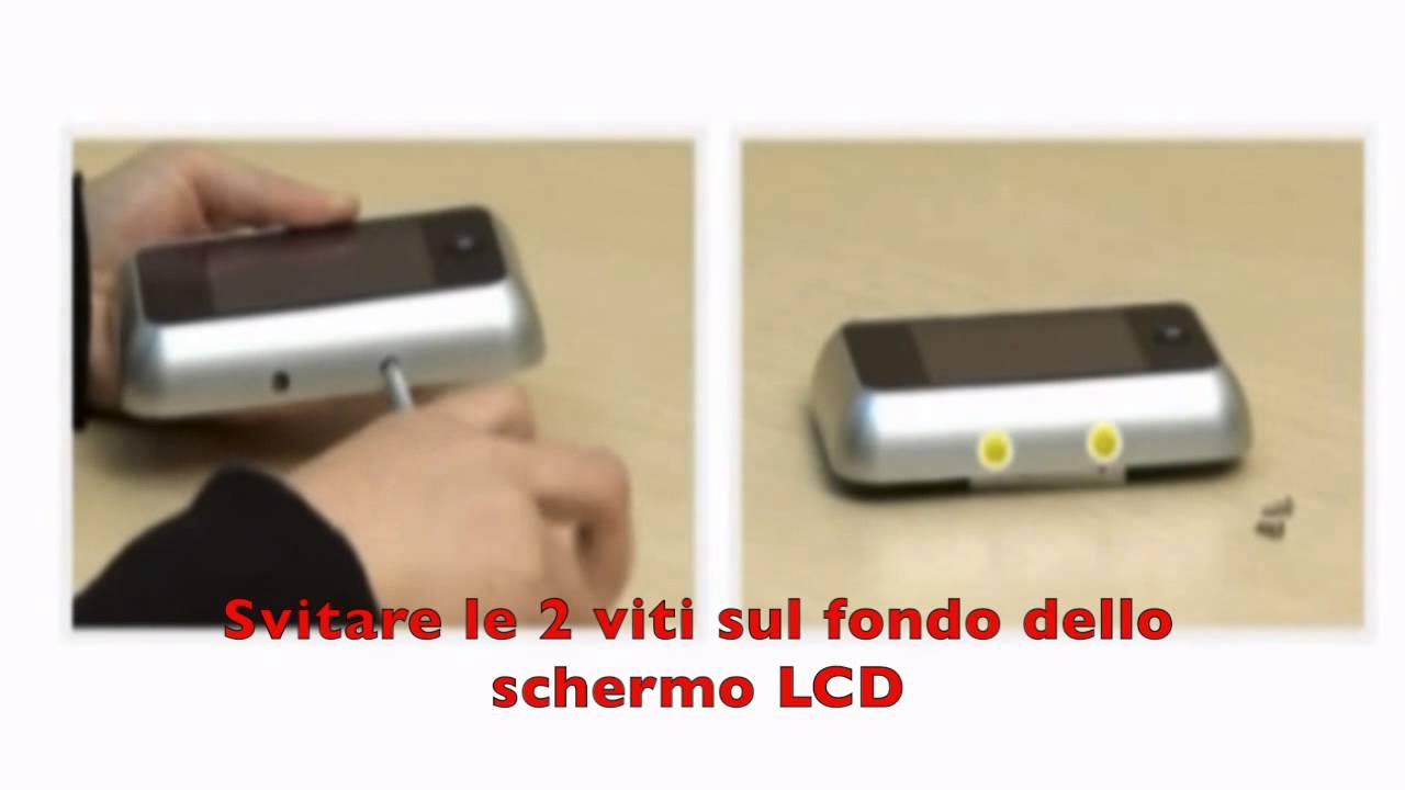 Spioncino visore digitale electraline per porta con - Spioncino porta con telecamera ...