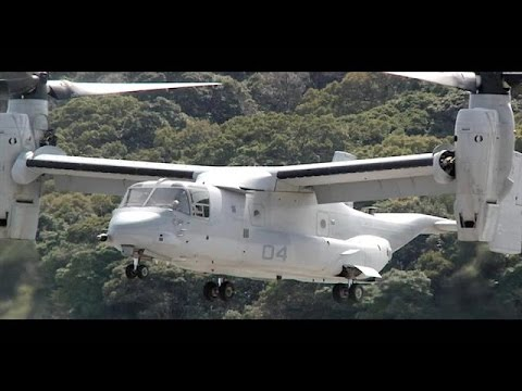 Two V-22 Ospreys from the 31st Marine Expeditionary Unit Make First Flight to Sasebo, Japan
