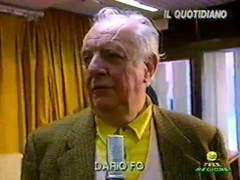 Dario Fo sulla Censura nel 1994 - Intervista di Emanuele Carioti - 27/12/1994