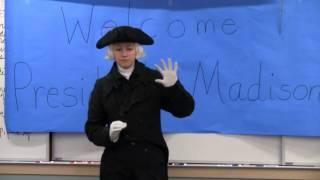 James Madison at Auke Bay Elementary School, Jan. 8th, 2014