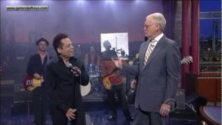 Garland Jeffreys - Coney Island Winter (Late Show with David Letterman)