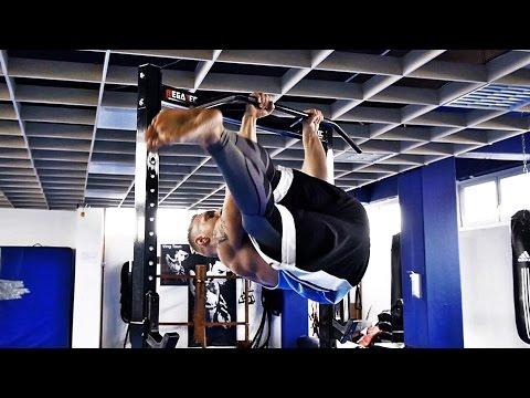 Scheibenwischer lernen (Bauchmuskel Übung) | Bauch Training für Fortgeschrittene (Tutorial) thumbnail