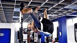 Scheibenwischer lernen (Bauchmuskel Übung) | Bauch Training für Fortgeschrittene (Tutorial)