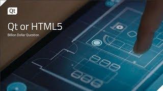 Qt or HTML5 — A Billion Dollar Question {on-demand webinar}