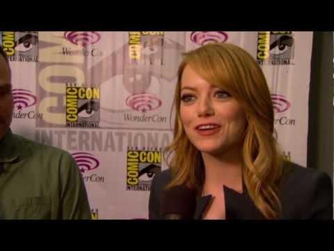 Emma Stone & Director Marc Webb Talk 'The Amazing Spider-Man' At WonderCon