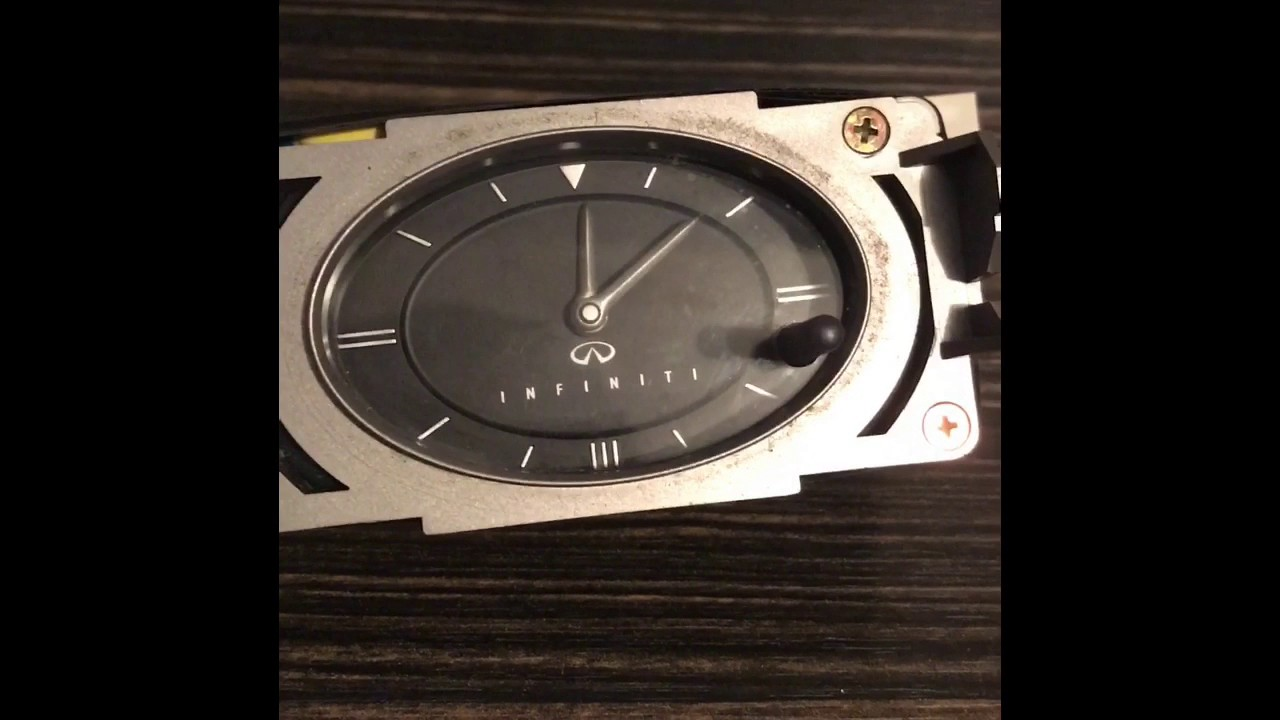 Infiniti G35 G37 Analog Clock G Led New Youtube 1280x720